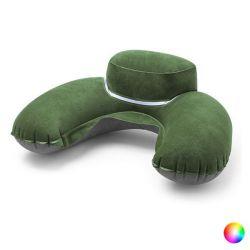 cuscino cervicale da viaggio gonfiabile 144997 bigbuy travel