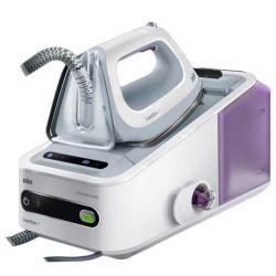 ferro da stiro con caldaia braun is7144 2 l 125 g/min 2400w bianco viola