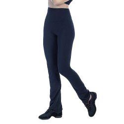 leggings da donna pancia piatta happy dance 2388 gamba a zampa d'elefante