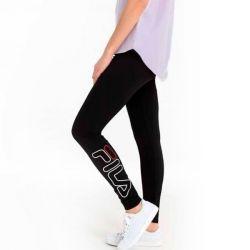 leggings sportivo da donna fila 687124 nero