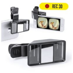 lente 3d per fotocamera di smartphone 145633 bigbuy tech