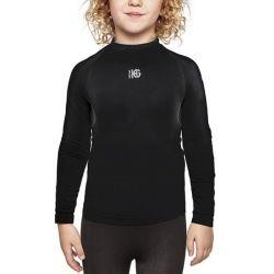 maglia termica da bambini sport hg eleven nero
