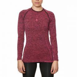 maglia termica da donna sport hg hg-8052 nero magenta