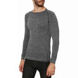 maglia termica da uomo sport hg hg-8032 grigio