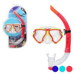occhialini da snorkeling e boccaglio adulti 117560 bigbuy outdoor