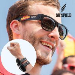 occhiali da sole arrotolabili sunfold spain black