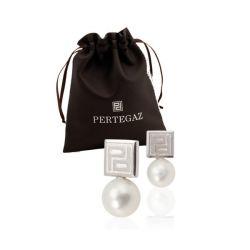 orecchini donna con perla pertegaz 147100