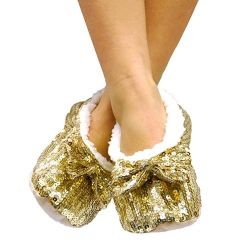 pantofole ballerine morbide con paillettes bigbuy fashion