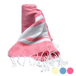 pareo asciugamano 100 % cotone 144885 bigbuy accessories