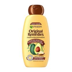 anti-frizz shampoo original remedies garnier 300 ml