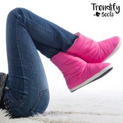 stivali pantofole per la casa trendify boots innovagoods