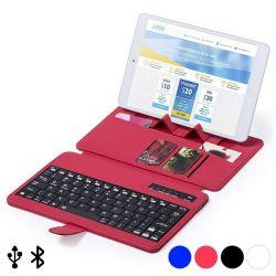 tastiera bluetooth con supporto per dispositivo mobile 145739 bigbuy tech