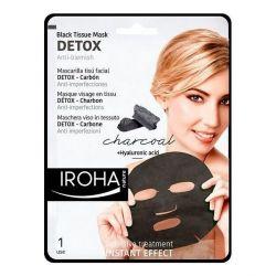 detergente viso detox charcoal black iroha