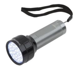 torcia led alluminio 147288 bigbuy outdoor
