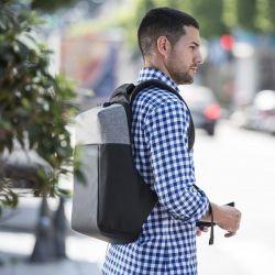 zaino antifurto con usb e scompartimento per tablet e pc portatile 145949 bigbuy office
