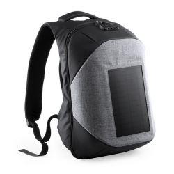 zaino antifurto con usb e scompartimento per tablet e pc portatile 146128 bigbuy tech