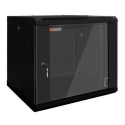 armadio rack a muro wp wpn-rwb-20606- 20 u 600 x 600 x 1000 mm nero