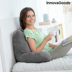 cuscino da lettura con braccioli huggilow innovagoods