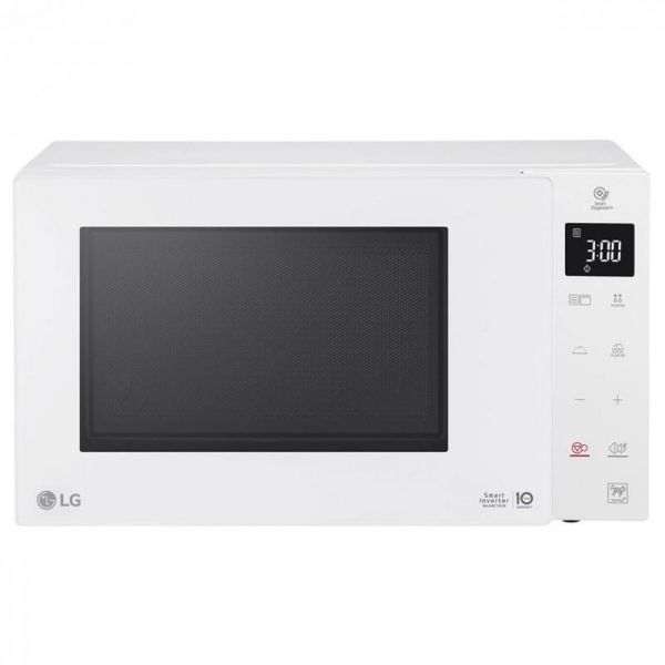 lg forno a microonde +grill +vapore mh6535gdh 25l 1000w white