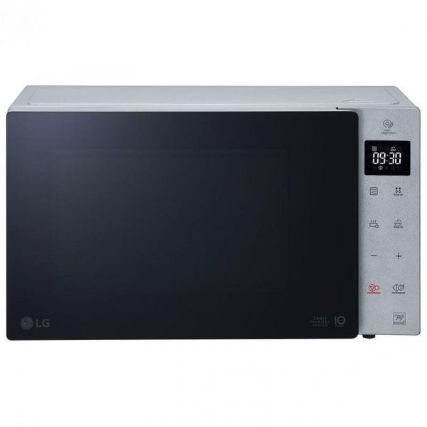 lg forno a microonde +grill +vapore mh7235gpss 32l 1350w steel silver