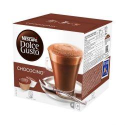 capsule di caffè nescafé dolce gusto 12045470 16 pz chococino
