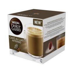 capsule di caffè nescafé dolce gusto 45831 café au lait intenso 16 pz