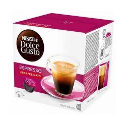 capsule di caffè nescafé dolce gusto 60658 espresso decaffeinato 16 pz