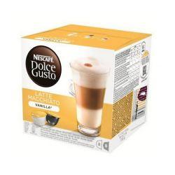 capsule di caffè nescafé dolce gusto 70676 latte macchiato 16 pz vaniglia