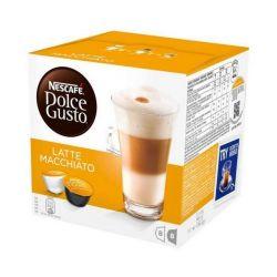 capsule di caffè nescafé dolce gusto 98386 latte macchiato 16 pz