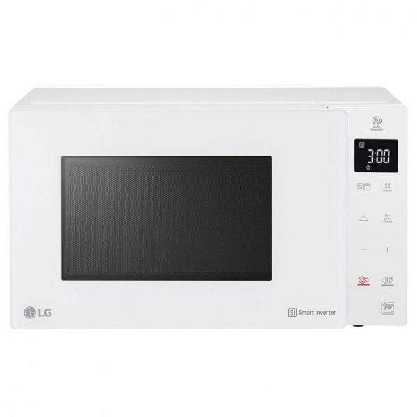 lg forno a microonde +grill mh6336gih 23l 1150w white luxury
