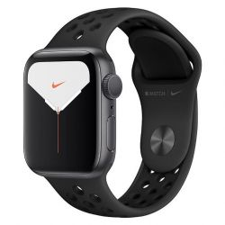 apple watch nike series 5 gps 40mm space grey aluminium case anthracite black nike band