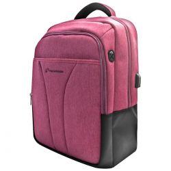 """techmade zaino techbag-t-pkper notebook 15,6"""" con porta usb pink techbag-t-pk"""