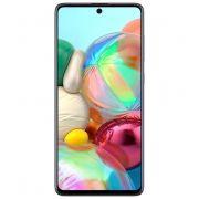 """smartphone samsung galaxy a71 sm-a715f 6+128gb 6.7"""" prism crush silver dual sim tim"""