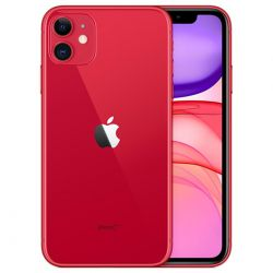 """smartphone apple iphone 11 64gb 6.1"""" red mwlv2zd a mwlv2zd/a"""
