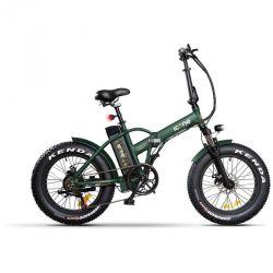 bici elettrica pieghevole icon.e e-road plus 250w marines green s