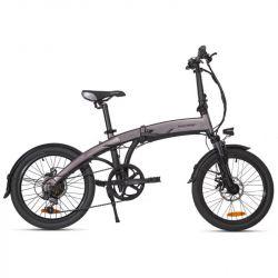 bici elettrica pieghevole macrom milano 250w grigio antracite