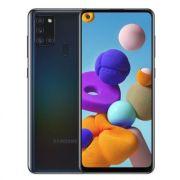 """smartphone samsung galaxy a21s sm-a217f 3+32gb 6.5"""" black dual sim italia"""