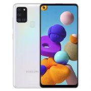 "smartphone samsung sm-a217f galaxy a21s 3+32gb 6.5"" white dual sim italia"