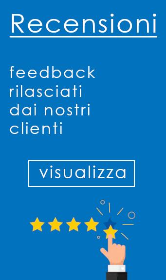 recensioni clienti soddisfatti feedback